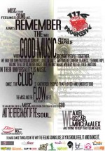 Remember The Good Music în Club Flow din Bucureşti