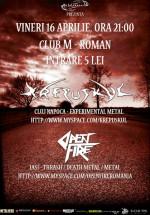 Concert Krepuskul şi Open Fire în Clubul M din Roman