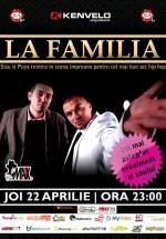 Concert La Familia în Club Maxx din Bucureşti