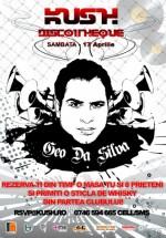 Geo Da Silva în Club Kush din Iaşi