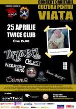 Concert Caritabil în Club Twice din Bucureşti
