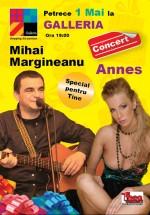 Concert Mihai Mărgineanu & Annes la Galleria Mall din Piatra Neamţ