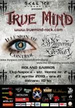 Concert True Mind, Illusion Of Control & Whispering Woods în Roland Garros din Cluj-Napoca