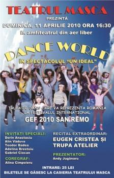 Dance World la Teatrul Masca din Bucureşti