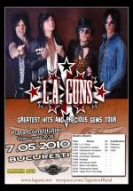 Concert L.A. Guns în Piaţa Constituţiei din Bucureşti