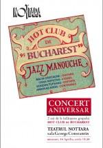 Concert Hot Club de Bucharest la Teatrul Nottara din Bucureşti