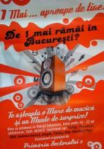 1 Mai în Parcul Sebastian din Bucureşti
