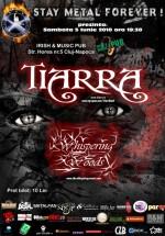 Concert Tiarra şi Whispering Woods în Irish & Music Pub din Cluj-Napoca