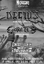 Concert Decius şi Goretex la Agrotehnica Club din Aiud