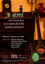 Aniversare Green Tea din Bucureşti