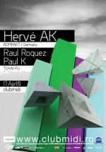Herve AK la Club Midi din Cluj-Napoca