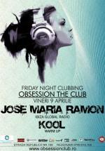 Jose Maria Ramon în Club Obsession din Cluj Napoca