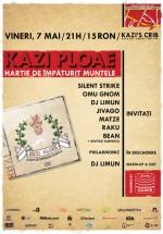 Lansare album Kazi Ploae la Kazi's Crib din Bucureşti