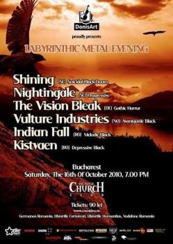 Labyrinthic Metal Evening în The Silver Church din Bucureşti