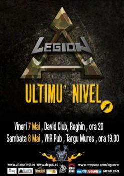 Legion şi Ultimu' Nivel la Reghin şi Târgu Mureş