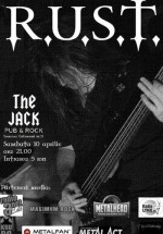 Concert R.U.S.T. în The Jack Pub din Bucureşti