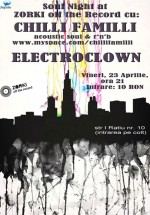 Chilli Familli & Electroclown la Zorki Photo Cafe din Cluj-Napoca