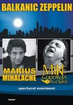 Concert Marius Mihalache şi Mike Godoroja la Teatrul Maria Filotti din Brăila