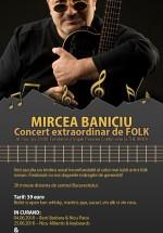 Concert Mircea Baniciu la The Brick din Corbeanca