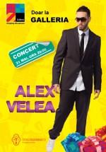 Concerte Alex Velea la Galleria Mall din Suceava