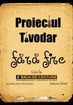 Concert Proiectul Tivodar la Ceainaria Teatrului ACT din Bucureşti