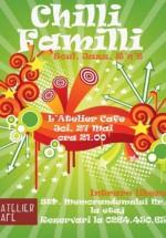 Concert Chilli Familli la L'Atelier Cafe din Cluj Napoca