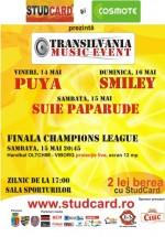 Transilvania Music Event la Sala Sporturilor din Cluj-Napoca