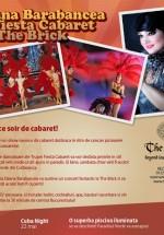 Ozana Barabancea şi Trupa Fiesta Cabaret la The Brick din Corbeanca