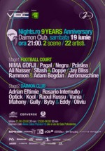 Aniversare 9 ani Nights.ro la Daimon Club din Bucureşti