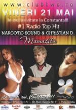 Narcotic Sound & Christian D în Club Two din Constanţa
