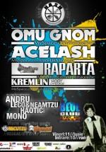 Concert Omu Gnom, Acelash & Raparta la Blue Club din Ploieşti