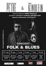 Concert Daniel-Silvian Petre & Emil Kindlein în La Scânteia din Bucureşti