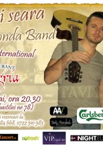 Concert Tavi Clonda Band la Restaurant Sangria din Bucureşti