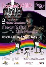 Concert Walter Ghicolescu în Club Phoenix din Constanţa