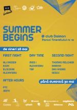 Summer Begins la Daimon Club din Bucureşti