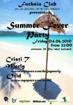 Summer fever party în Club Fuchsia din Bucuresti