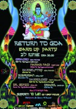 Return to Goa Festival Warm Up Party în Club Suburbia din Bucureşti