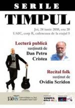 Concert Ovidiu Scridon la UAIC din Iaşi