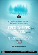 Concert Cecilia Eyes & Kwoon la Kulturhaus din Bucureşti