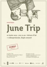 Concert June Trip la Zorki Photo Cafe din Cluj-Napoca