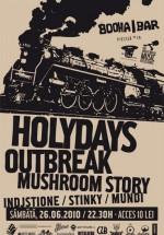 Concert Mushroom Story la Booha Bar din Cluj-Napoca