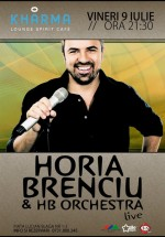 Concert Horia Brenciu & HB Orchestra în Club Kharma din Cluj-Napoca