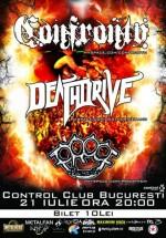 Concert Confronto în Club Control din Bucureşti