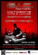 G.I.C., Sonicvibe & Speakeasy la Motozone Cafe din Constanţa
