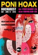 Concert Poni Hoax la Street Delivery şi Club Control din Bucureşti