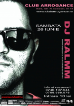 DJ Ralmm în Club Arrogance din Bals