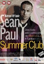 Concert Sean Paul la Turabo Summer Club din Bucureşti