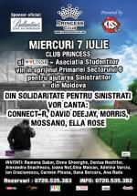 Din solidaritate pentru sinistraţi în Princess Club din Bucureşti