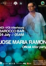 Jose Maria Ramon la Barocco Bar din Bucureşti