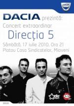 Concert Direcţia 5 la Casa Sindicatelor din Mioveni